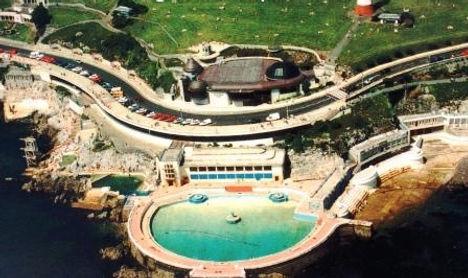 Tinside Lido on Plymouth Hoe Devon - Wild Swimming History