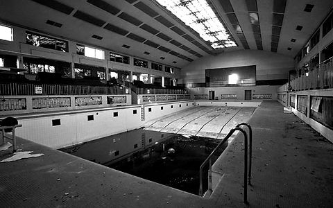 Swimming History London  Public swimming Bath, Hornsey Road.. Islington london history