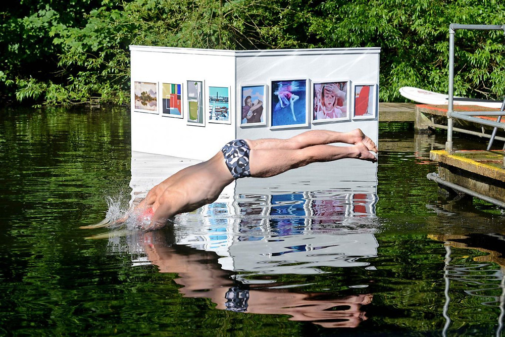 Wild Swimming – Floating Art on Hampstead Heath