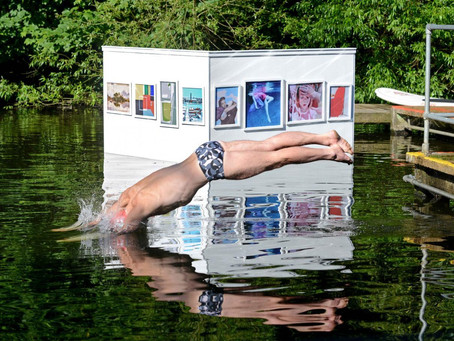 Wild Swimming – Floating Art on Hampstead Heath