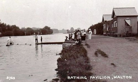 Wild Swimming at Walton Bathing Pavilion Swimming History