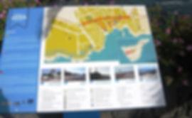 Map of swimming pools at Alcala Tenerife