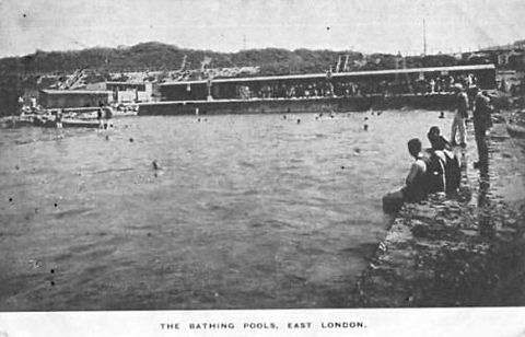 Bathing places were established to bring British swimmers under council control