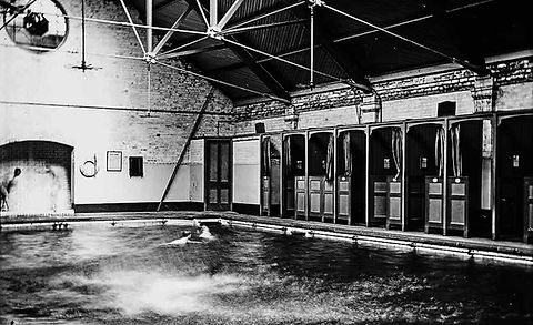 Shrewsbury's Victorian swimming pool history