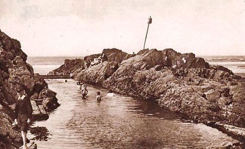 Bude Sir Thomas Bathing Pit Swimming History