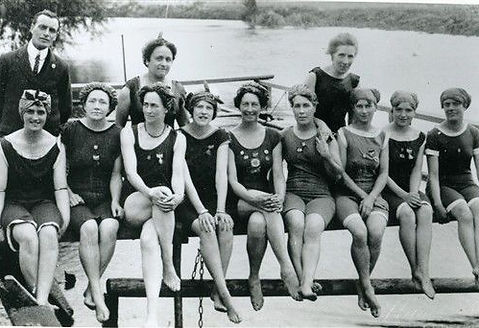 Bathing Belles River Trent Tolney Lane Swimming History