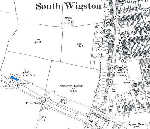 Swimming History Leicester, Wigston Lido