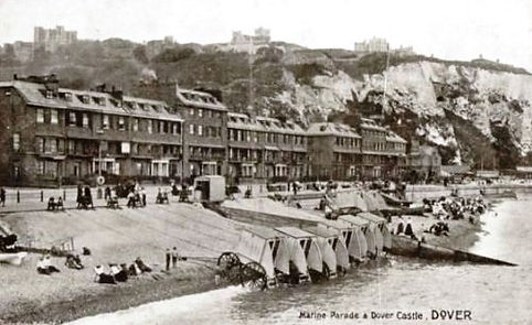 Sea Bathing at Dover Swimming History