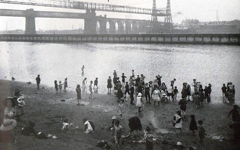 RUNCORN. ​  River Weaver. Historic wild swimming venue.