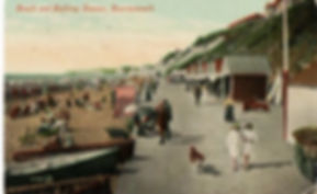 Beach and Bathing Houses Bournmouth