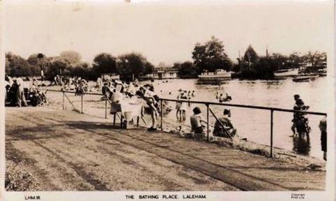 Laleham Bathing Place Swimming History
