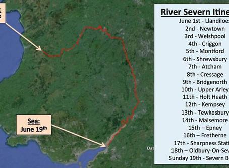 Ross O'Sullivan to Swim the Length of the Severn