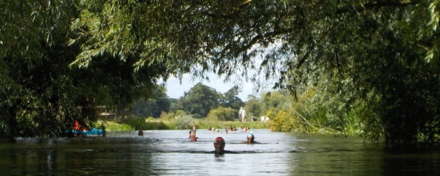 River Swimming Cambridge