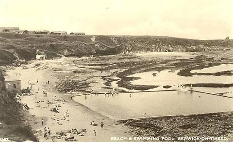Beach & Swimming Pool , Berwick-upon-Tweed Swimmig History