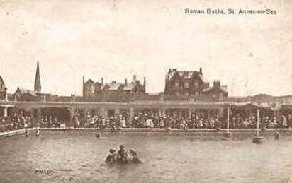 St Annes, Roman Baths, Swimming Pool