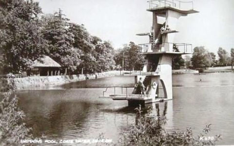 Coate Water Diving Boards Wild Swimming History