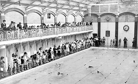 Brighton North Road Baths Swimming History