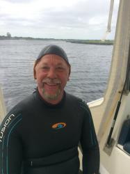 Cancer survivor is swimming the full length of the Shannon