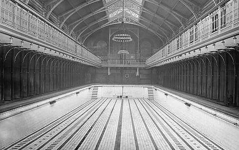 Public Bath, New Islington Ancoats Swimming History