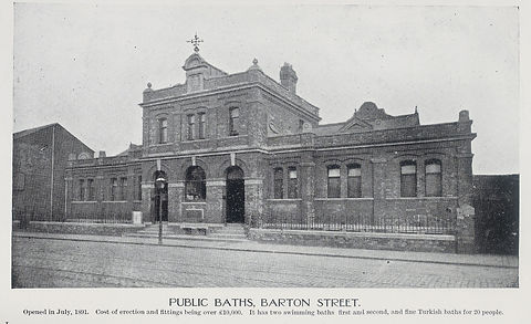GLOUCESTER swimming history Public Baths