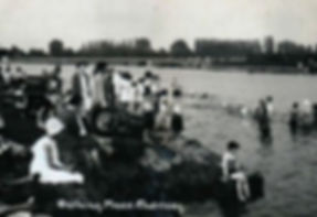 Bathing Place Chertsey Swimming History
