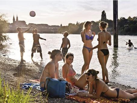 A Refreshing Attitude Towards River Swimming