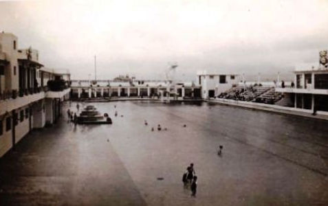 The Bathing Pool Morecambe