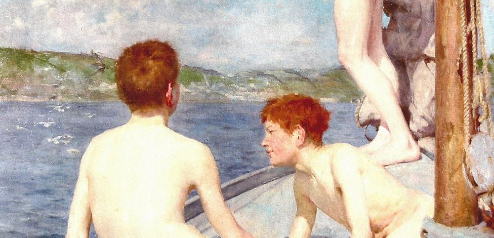 Bathers Henry Scott Tuke