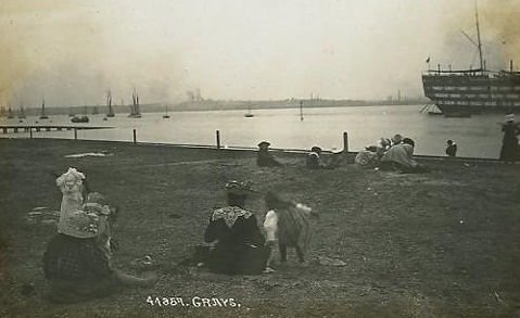 Grays Essex Beach Bathing Place Swimming History