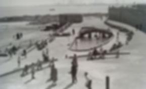 Block Sands and paddling pool Swimming History