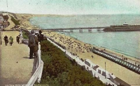 Sea Bathing Westcliffe Bournmouth