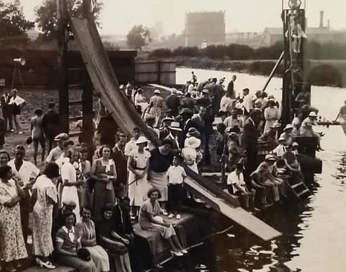 Swimming History Leicester, Swans Nest Bathing Place Melton Mowbray