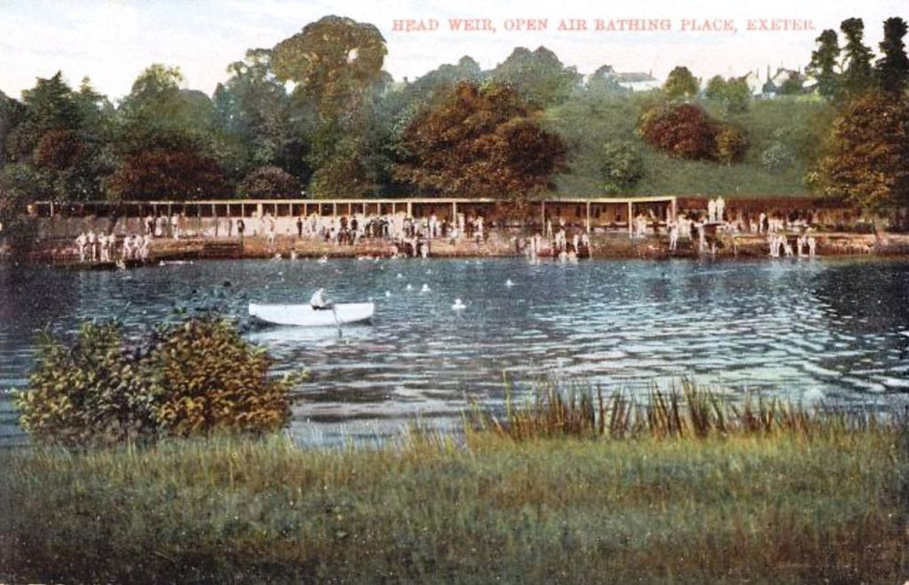 Head Weir, Open Air Bathing Place Exeter