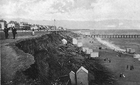Sea Bathing at Clacton-on-Sea Wild Swimming History