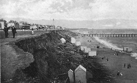 Sea Bathing at Clacton-on-Sea Wild Swimming History