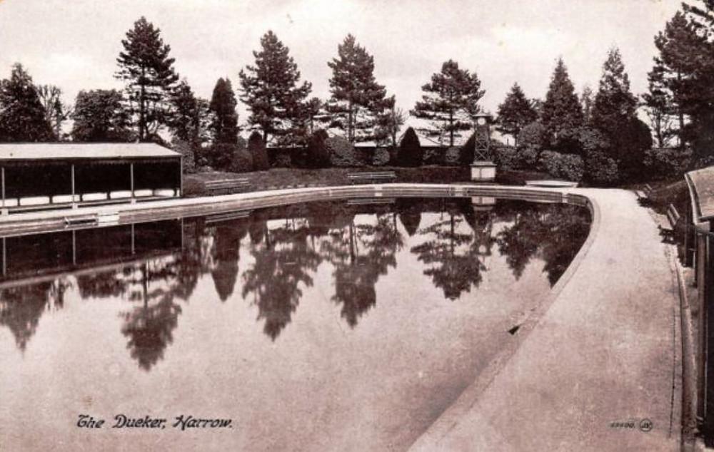 The Dueker, Harrow, 1904 Bathing Place