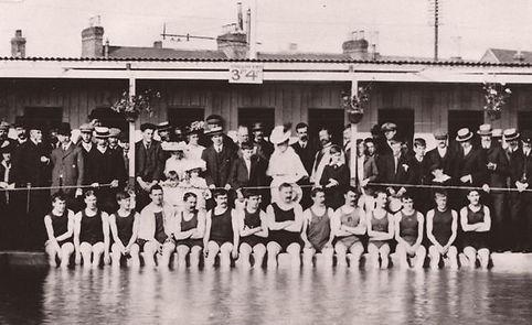 Erith Public Bath, Walnut Tree Road swimming History
