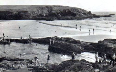 Natural Swimming Pool Treyarnon BayCornwall Wild Swimming History
