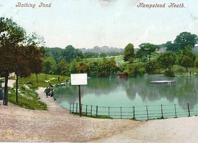 Hampstead Mens Bathing Pond, London Swimming History