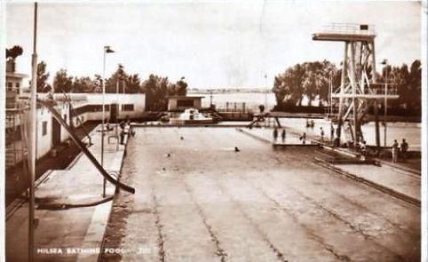 Hilsea Lido Bathing Pool