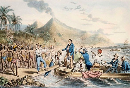 British Culture, English missionary John Williams, active in the South Pacific