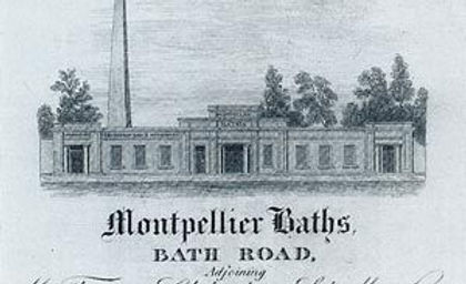 Montpellier Baths, Salts Laboratory – Bath Road, opened around 1806-10