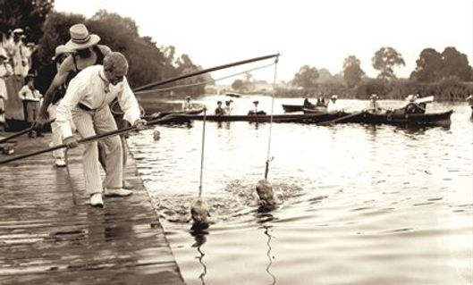 The history of river and lake swimming in the UK