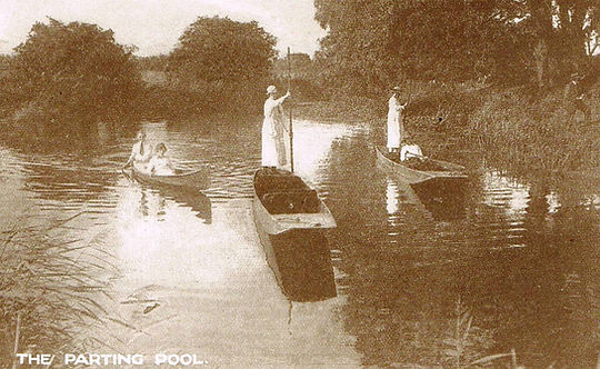 The Parting Pool - Leicester Aylestone Boathouse - Punts