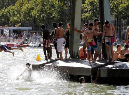 Paris Canal Swimming to Go Ahead 2017