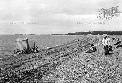 Stokes Bay, Swimming from the beach Swimming History