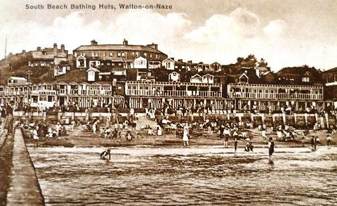 Sea Bathing Walton-on-the-Naze Swimming History