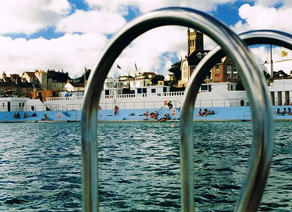 The Jubilee Pool looks ship shape and pristine after its refurbishment