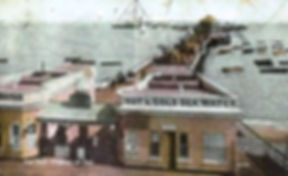 Clacton Pier and Baths Swimming History