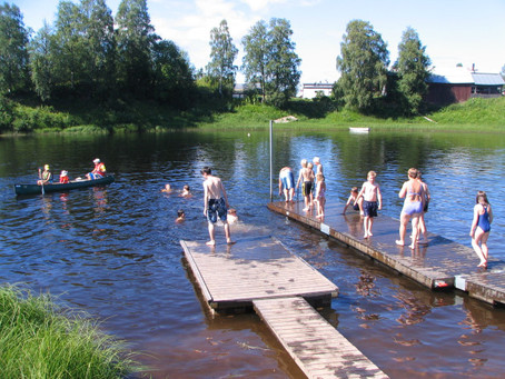 Picture of the Week: Wild Swimming in Sweden